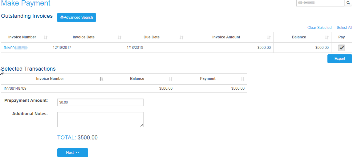 Where Can I View Print Or Pay Invoices FrontStream - Invoice discrepancy meaning