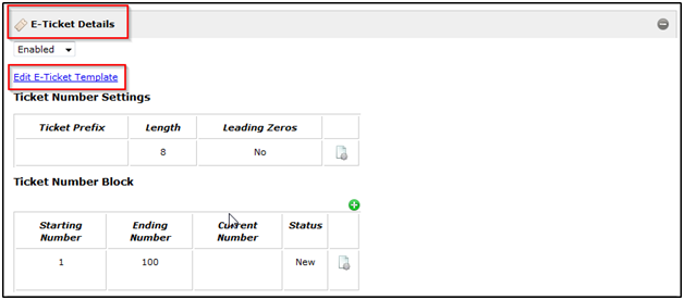 Purchase items attributes and etickets FrontStream – E Ticket Template